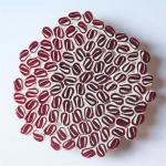 Rosácea XVI  (rosa e marfim)