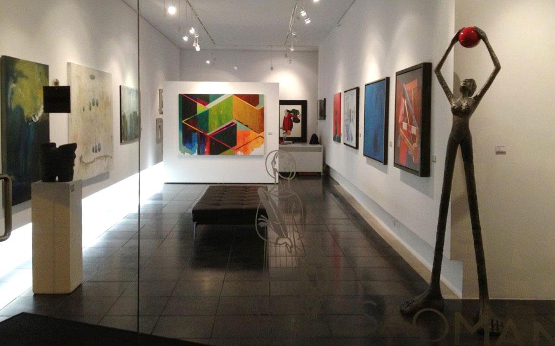 galerias de arte contemporânea